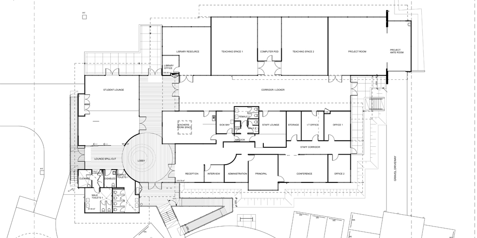 The Australian Technical College - Sale Floor plan