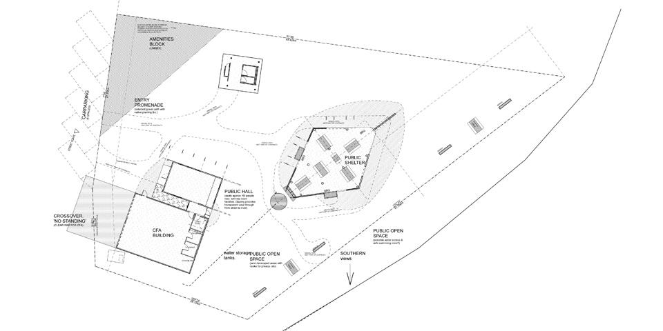 Licola tourist park plan