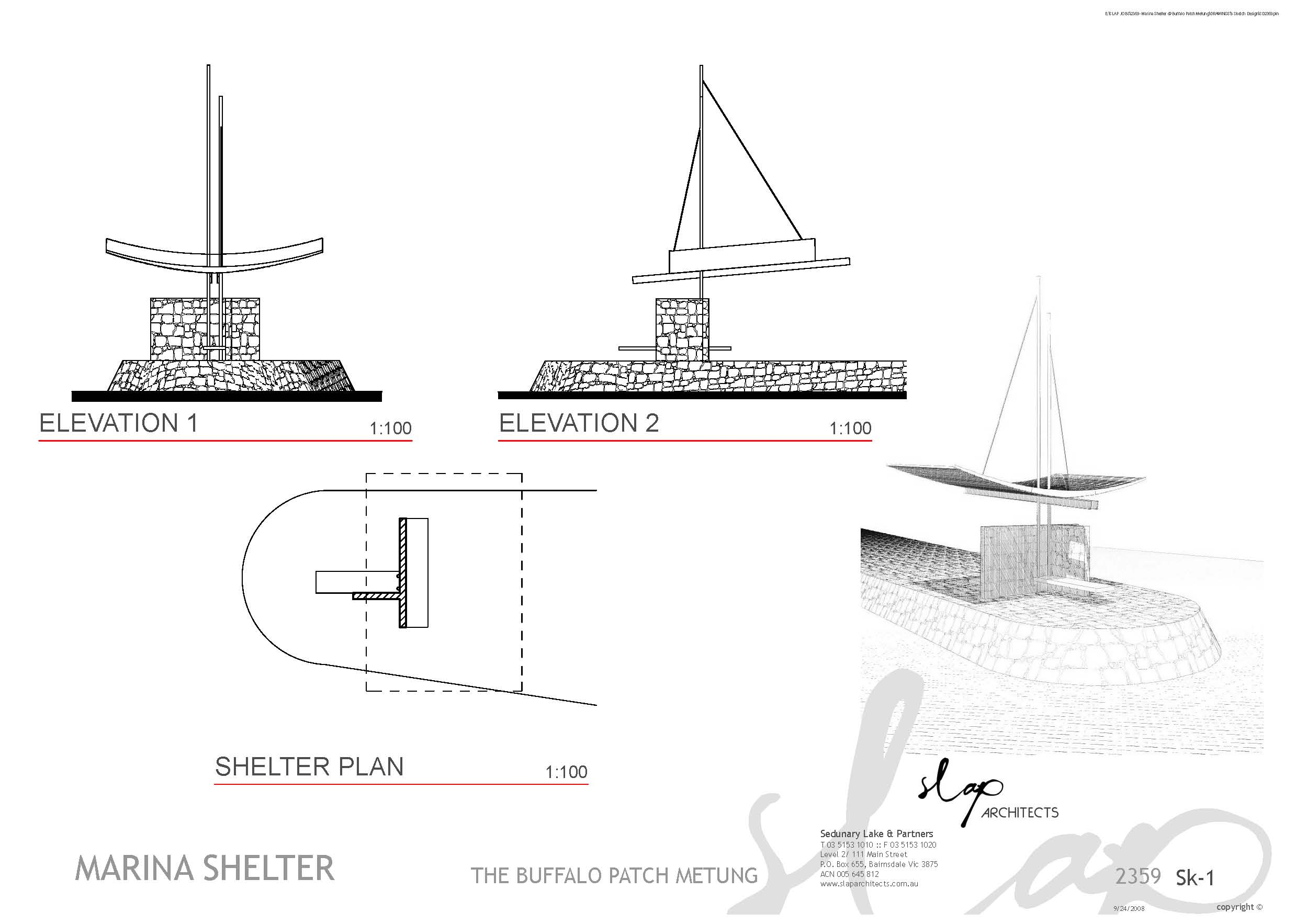COM_CIVIC_MARINA SHELTER_DWG