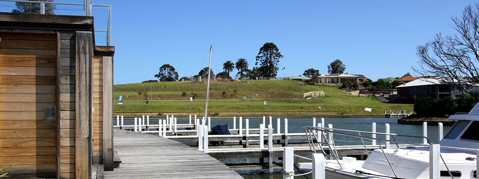 the landings boatsheds